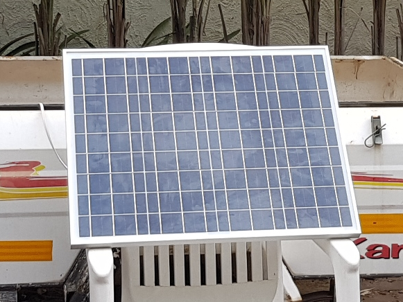 Solar Panel 50W with 10A LCD Charge Controller New | Junk Mail