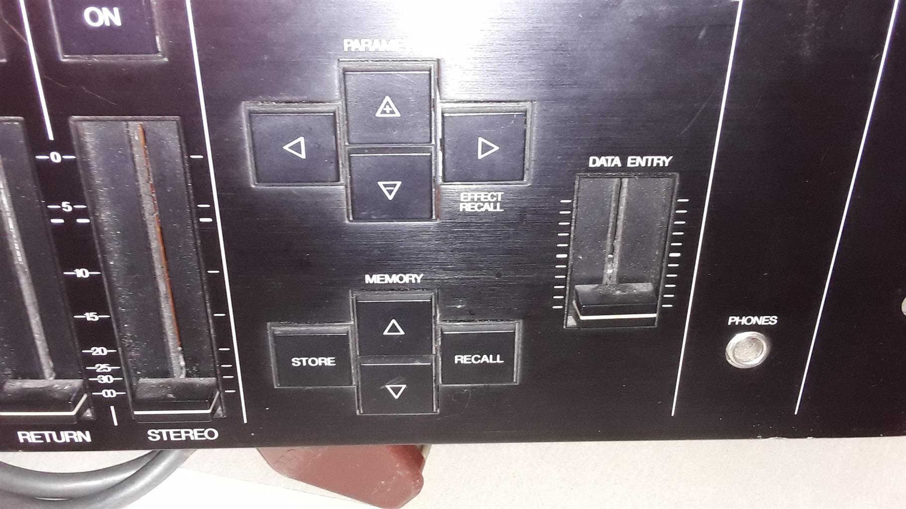 Yamaha DMP11 digital mixer. Needs to be factory reset by Agent(Global music)