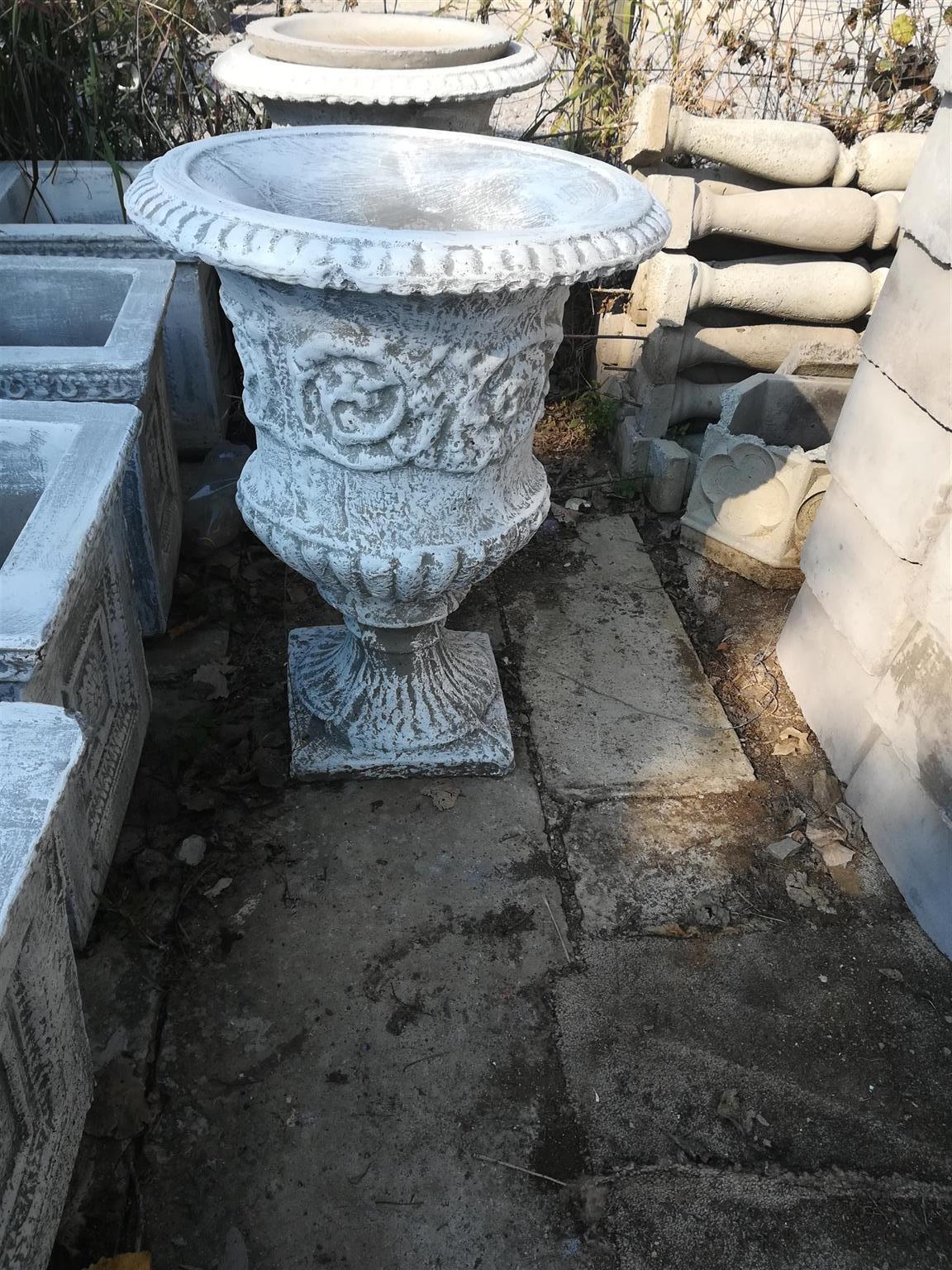 Concrete Garden pots