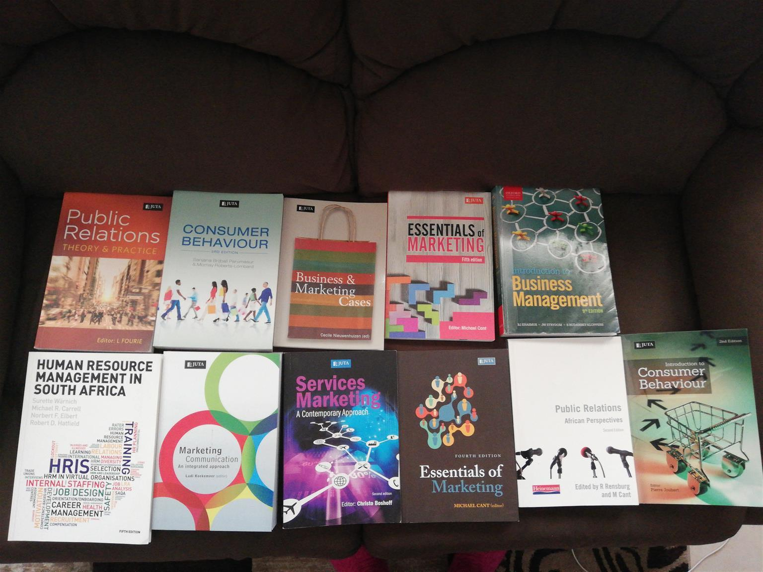 Unisa text books