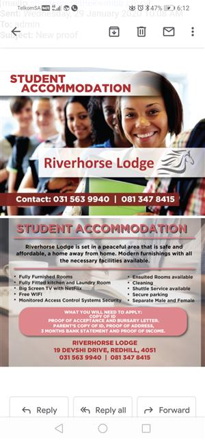 Student Accommodation to Let