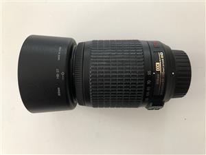 Nikon 55-200mm f4-5.6  zoom lens