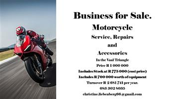 Motorcycle workshop and accessories