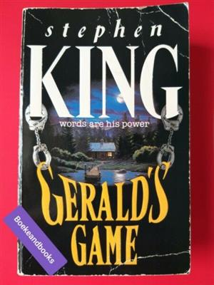 Gerald's Game - Stephen King - REF: 3401.