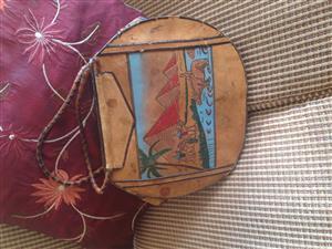 Vintage Egyptian Leather Handbag