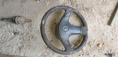Opel Corsa steering wheel