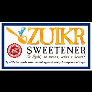 ZUIKR Sweetener......a sugar substitute and artificial sweetener with NO aftertaste! Why not try it?