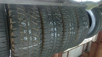 """15"""" Bakkie tyres 215/80/15"""" for Sale."""