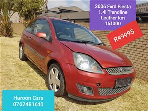 2006 Ford Fiesta 1.6i 3 door Trend