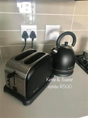 Kettle and toaster combo