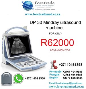 DP30 Mindray ultrasound machine only for R62000 contact patrick on 0110461898