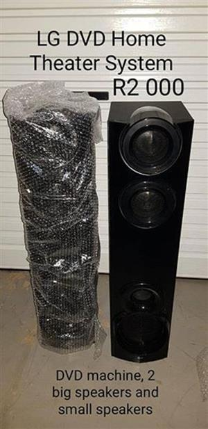 LG DVD Home theater system for sale