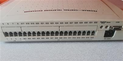 CP416 Telephone PABX  PBX with 4 Lines x 16 Extensions