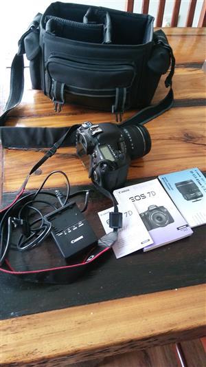 Canon 7D Camera & Accessories