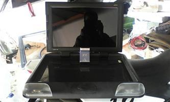 "Targa 17"" roof mount screen"