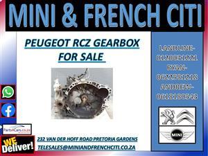 PEUGEOT RCZ GEARBOX FOR SALE