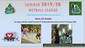 New Action Netball Season