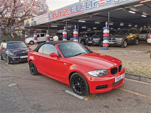 2011 BMW 1 Series 120i convertible auto