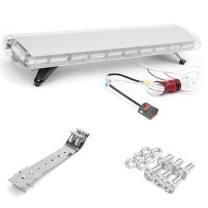 Security Car Roof Top Emergency Warning Strobe Flash Light: White COB LED Strobe.