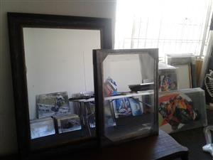 Wall Mirrors (2 pieces) NEW