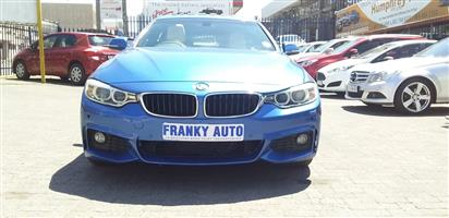 2015 BMW 4 Series Gran Coupe 420D GRAN COUPE M SPORT A/T (F36)