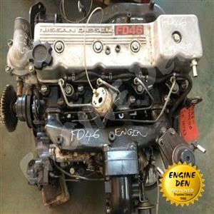 NISSAN CABSTAR FD46 USED ENGINE P.O.A