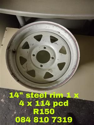 14 INCH STEEL RIM FOR SALE