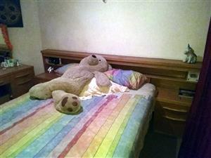 Bedroom suite, wood, for sale
