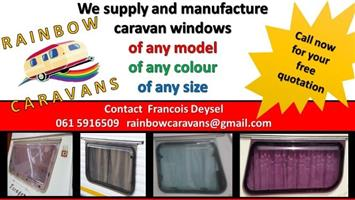 Rainbow Caravans Windows