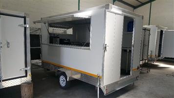 Catering Store Affordable Mobile Kitchen Trailer for sale