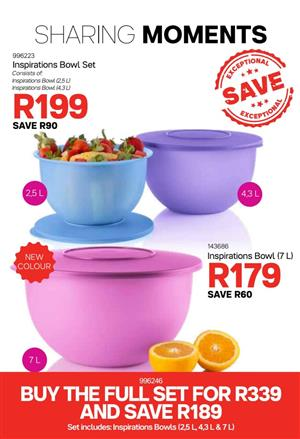 Tupperware For Sale