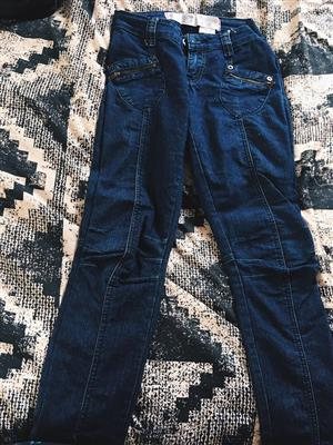 Dark blue jeans for sale