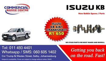 isuzu 4jb1 crank shaft new