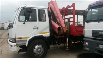 2006 Nissan UD90 Crane truck