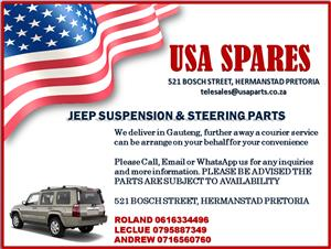 JEEP SUSPENSION AND STEERING SYSTEM PARTS