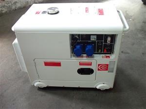 New Diesel Generator  7.5 KVA