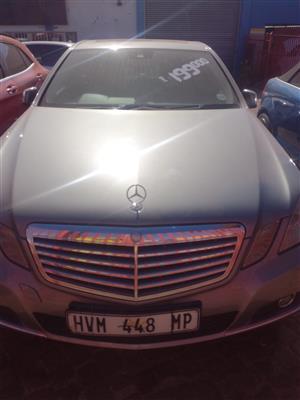 2012 Mercedes Benz E Class E350CDI Avantgarde