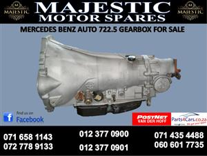 Mercedes benz 7225 auto gearbox for sale