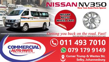 Wheel Caps For Nissan Nv350 Impendulo For Sale.