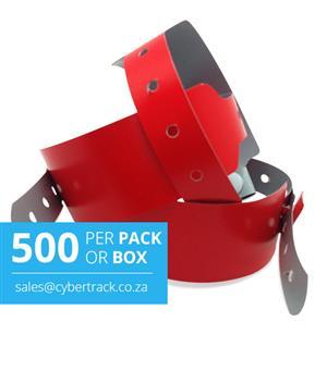500 Wideface Vinyl Wristbands