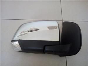 ISUZU 2012/16 Brand New Door Mirror Electric Chrome with indicator for sale price:R1100 each