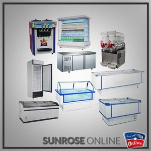 GLASS TOP ISLAND FREEZERS,MEAT DISPLAY AND DOUBLE DOOR COOLERS NOW ON SALE AT SUNROSE ONLINE
