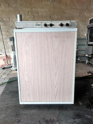 Gas fridges - bar fridge size