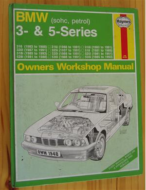BMW  3 & 5 Series Owner's Workshop Manual