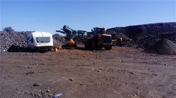 Looking for a JV.  Have a Chrome dump of 1 mil tons. Dump must be re-mined. Profit R50 mil pa