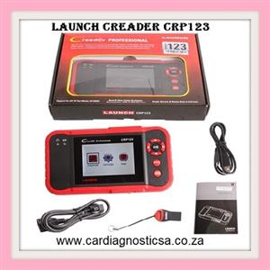 Launch CRP123 Professional Diagnostic System for Engine TCM ABS SRS Support Multi Vehicle