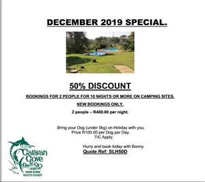 December Special on Camping