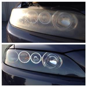 Crystal Clear Headlight Polish Kit DIY