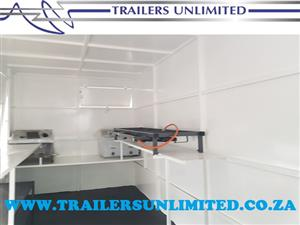 TRAILERS UNLIMITED. MOBILE CATERING TRAILERS.