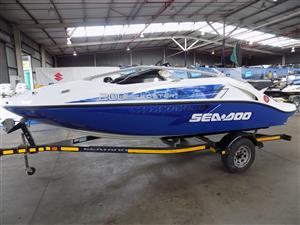 seadoo speedster 200 430 hp rotax on trailer | Junk Mail
